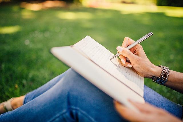 ノートに書きだす