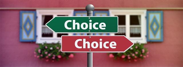 選択の仕方